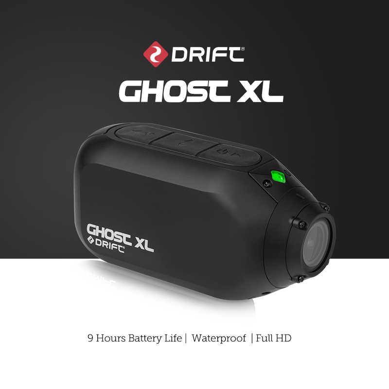 ライブストリーミングドリフトゴースト XL プラスアクションカメラスポーツカム 1080 オートバイマウンテンバイク自転車カメラヘルメットカム WiFi ビデオ