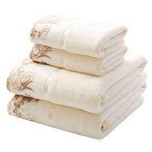 35 75 cm 70 140 cm Super suave de algodón Terry toallas de mano cara baño  toallas de mano a granel bordado toallas de mano 6c690c81714f