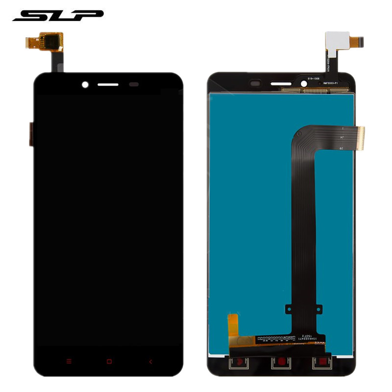Skylarpu Complete LCD for Xiaomi Redmi Note 2 Cell Phone Full LCD display Touch screen with Touch panel Free Shipping