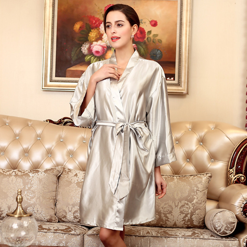 Robes for Women Warm Color Angel Wings Hot Sale Robe/pajamas/bath Robe Kimono Sexy Silk Robe Nightgown FT185