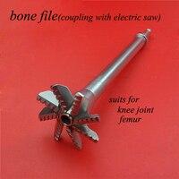 Medical orthopedics instrument knee&hip joint&femur bone file Electric drill head proximal femur bone file