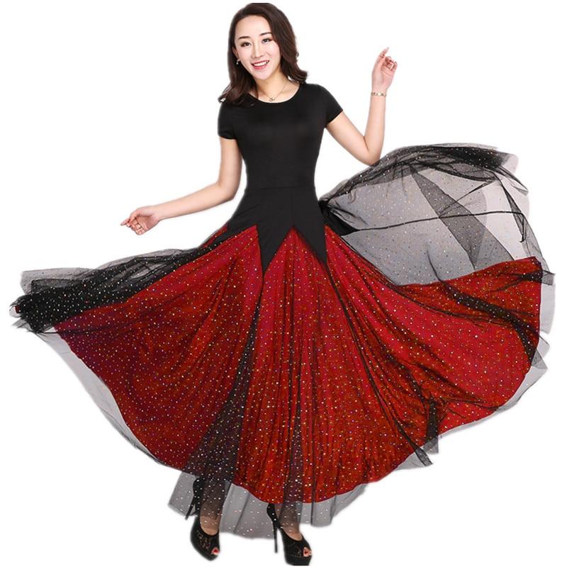 503bf633b9c679 Jupe Robes Manches Danse Femme De Courtes Pour Salon À 4jLA35R