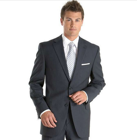 Online Get Cheap Mens Grey Suits for Sale -Aliexpress.com ...