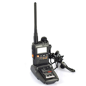 Image 2 - Baofeng UV 3R Portable Mini Walkie Talkie Two Way Ham VHF UHF Radio Station Transceiver Boafeng Dual Double Band Scanner Handy
