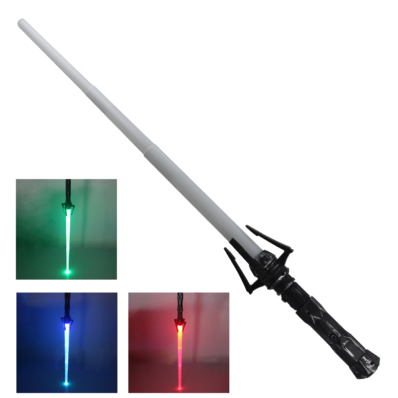Retractable Lightsaber Boy Toys Flashing Sword Cosplay Star Wars - გარე გართობა და სპორტი - ფოტო 2