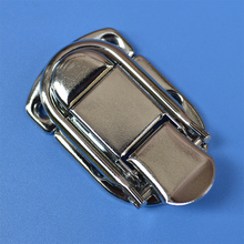 free shipping metal hasp Christopher Gibbs box buckle alloy luggage lock air clasp hanging wooden fastener