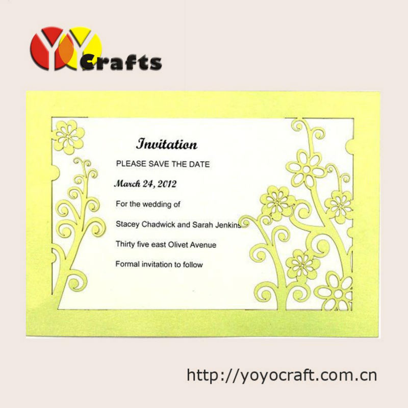 New design customized beautiful elegant wedding invitation card new design customized beautiful elegant wedding invitation card birthday invitation card with envelope and insert in party favors from home garden on stopboris Image collections