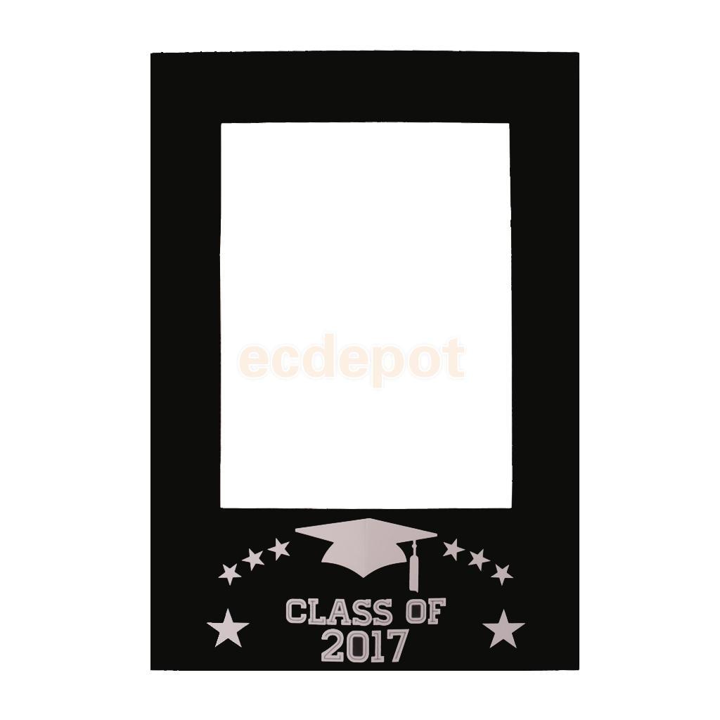 Klasse von 2017 DIY Tafel Selfie Rahmen Photo Booth Prop ...