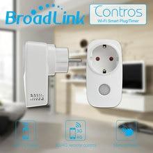 лучшая цена Broadlink SP3 SP CC Mini EU Contros Smart Home 16A Timer Smart Wifi Socket Plug, Ios Android Phone Smart Remote Wireless Control