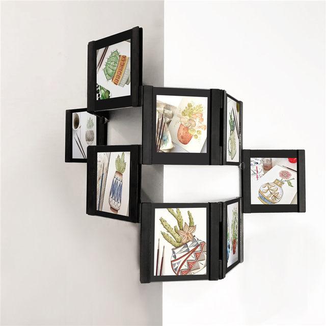 Online Shop 3d Diy Transparent Wall Collage Picture Frame Desktop
