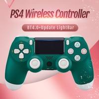 All New Wireless Controller for PS4 Bluetooth 4.0 Dualshock Gamepads Update Light Bar Joystick For PlayStation 4