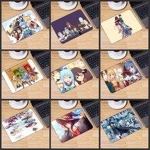 Yuzuoan büyük promosyon rusya yeni japonya Anime Konosuba Megumin dayanıklı kauçuk Mouse Mat Pad oyun Mousepad boyutu 180*220*2MM