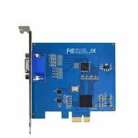 HD 1280*720p AHD dvr card windows PCI-E 4channel Audio Video Capture Card