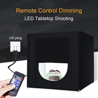Light Box Studio Photo Photography Softbox 160 LED Lamp Portable Folding Studio Tabletop Shooting Tent Box Kit 70cm CD15