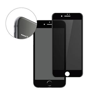 Image 2 - יוקרה 3D מעוקל אנטי ציוץ בוהק מסך מגן עבור iPhone מזג זכוכית פרטיות נייד טלפון מלא כיסוי סרט 100 יח\חבילה בתפזורת