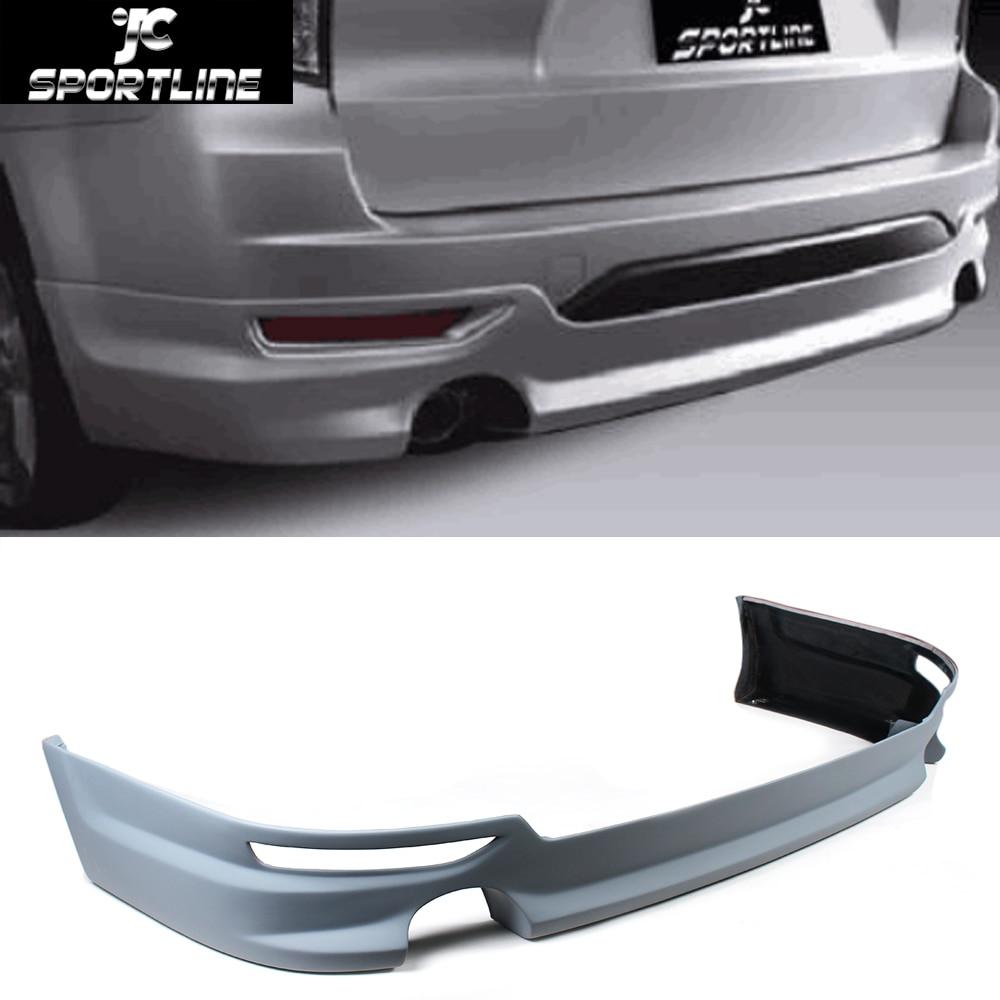 Car-Styling PU Auto Rear Diffuser Lip Spoiler for Subaru forester 2008-2010