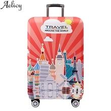 Aelicy толще путешествия багаж защитный чехол багажник чехол относится к 18 ''-32'' чемодан Крышка багаж чемодан для путешествий