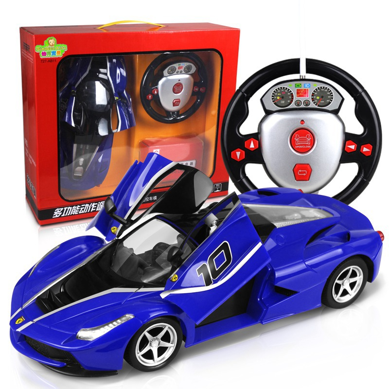 open the door , remote simulation model remote control car gravity steering ,remote control cars,rc car.rc toy  infrared remote control simulation brazil turtle toy animal model