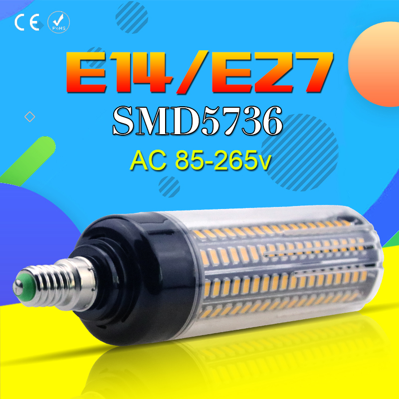 Corn Light Bulb LED Lamp E27 28/40/72/108/132/156/189leds High Lumen No Flicker Light E14 Led Kichen Living Room Decoration Lamp