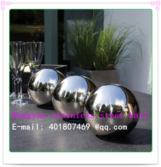 400 mm in diameter 304 Stainless steel ball, hollow ball, decoration ball, hang adornment