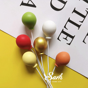 Image 2 - 1 takım renkli altın gümüş balon kek Topper için düğün doğum günü partisi dekorasyon tatlı güzel hediyeler