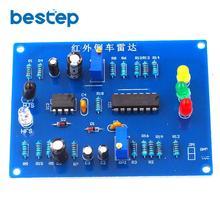 Infrared Parking Sensor kit Infrared Reversing Speed Reminder Electronic Assembl