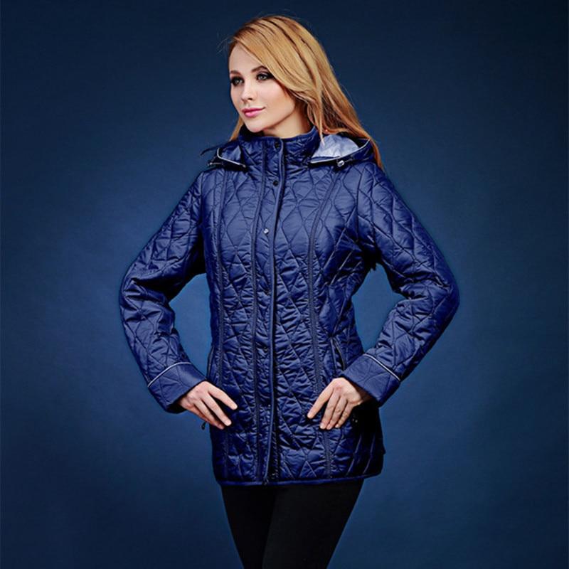 jesen i zima parka žene kratki dizajn Dugi rukav Hoodie prekrasan - Ženska odjeća - Foto 3
