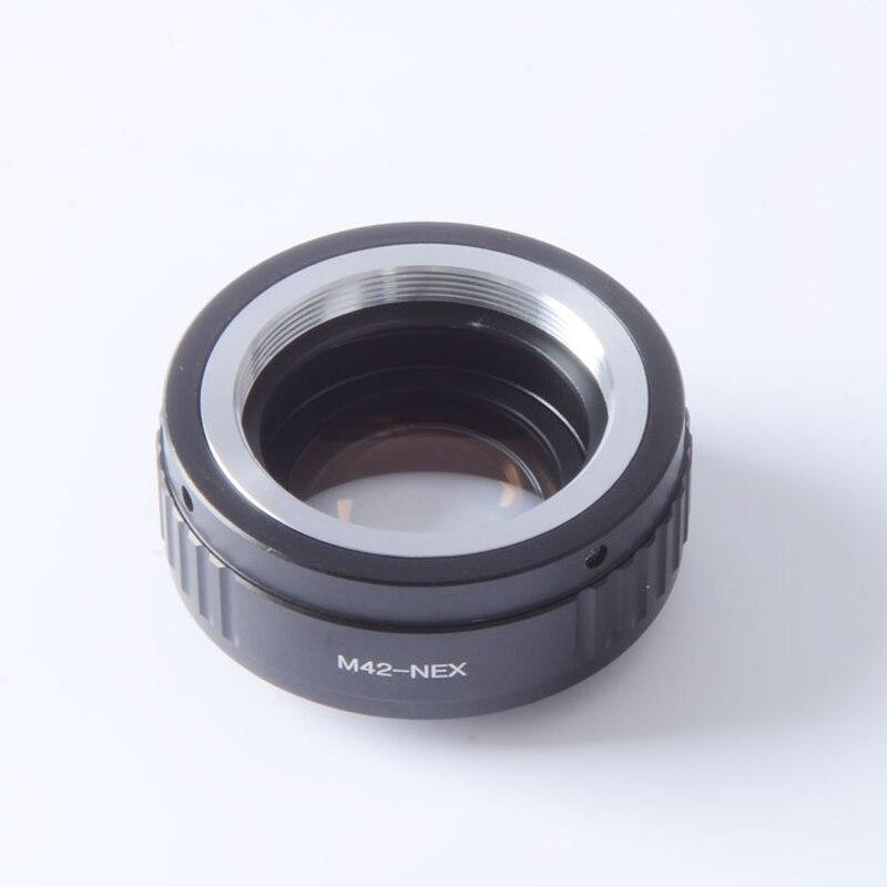 Focal Réducteur Vitesse Booster Turbo Adaptateur pour M42 Monture à Sony NEX E Mont Caméra NEX-7 NEX-6 NEX-5 NEX-3 NEX-VG20