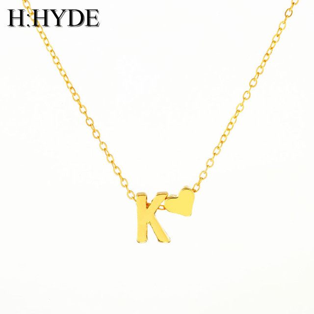 aliexpress com buy h hyde fashion personalized love heart letter
