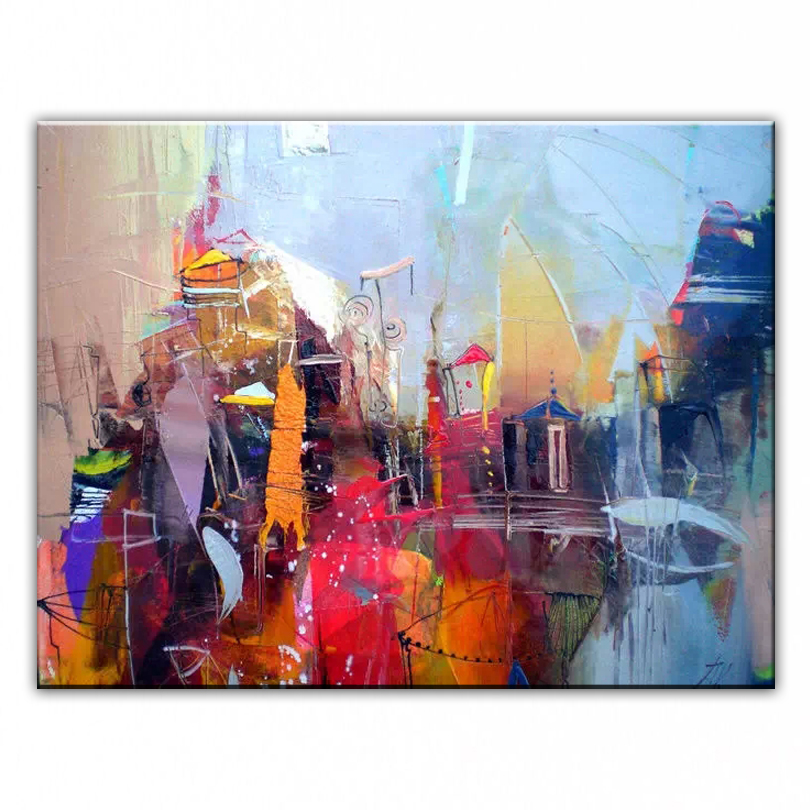 DONGMEI OILPAINTING қолмен боялған майлы бояу - Үйдің декоры - фото 2