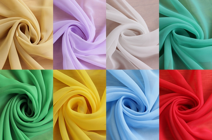 Satin Material Colors