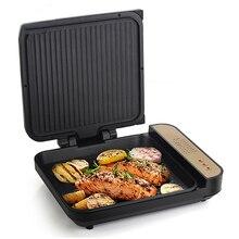 DMWD многофункциональный бытовой электрический сотейник 220V пиццы блинница картофеля фри для выпечки/обжарочная/BBQ с торта 2 боковых нагрева