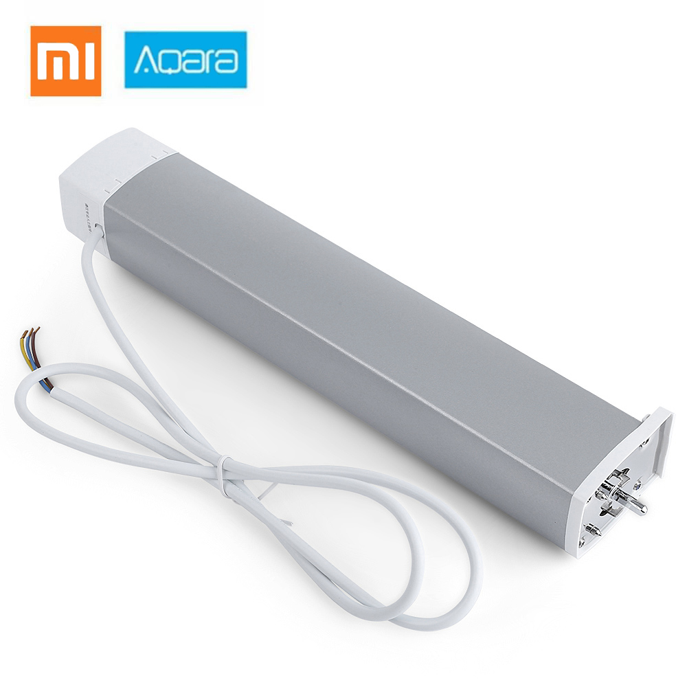 Aqara Smart Home cortina Motor Zigbee Wifi inteligente para xiaomi Dispositivo inteligente a través de la aplicación mi Home Control remoto inalámbrico