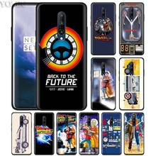 Back To The Future boy Phone Case for Oneplus 7 7Pro 6 6T Oneplus 7 Pro 6T Black Silicone Soft Case Cover