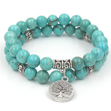 Fashion Design Natural Stone Tree Bracelet or High Quality For Women Jewelry Drop Shipping все цены