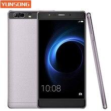Оригинал yunsong s9 plusmobile телефон 16mp камера 6'inch смартфон mtk6580 quad core dual sim мобильный телефон gsm/wcdma 3 г телефон