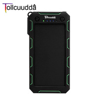 Tollcuudda Solar Power Bank 13000mAh Waterproof Poverbank External Battery Solar Charger Powerbank Portable Charger For Iphone6s