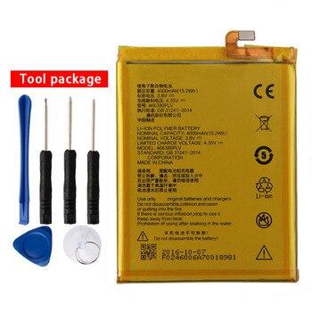 Original 466380PLV batería para teléfono ZTE Blade A610 A610C A610T BA610C BA610T 466380PLV 4000 mAh