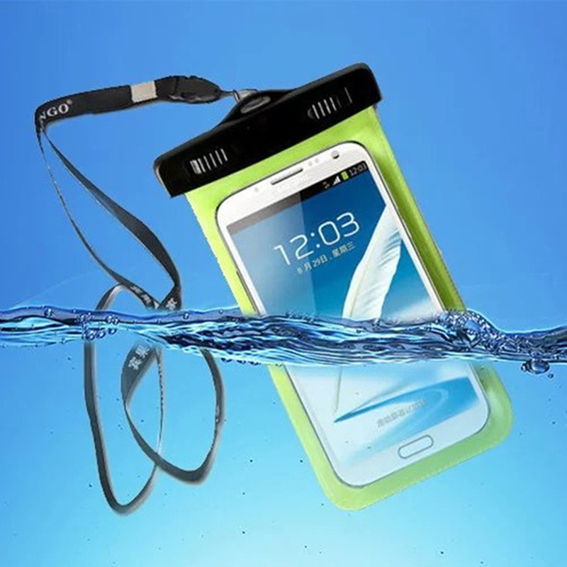 EMIUP Waterproof Case Bag Underwater Pouch Dirt Proof Durable Case Cover for Iphone 5 5S SE 6 6s Plus for Samsung S7 S7 Edge