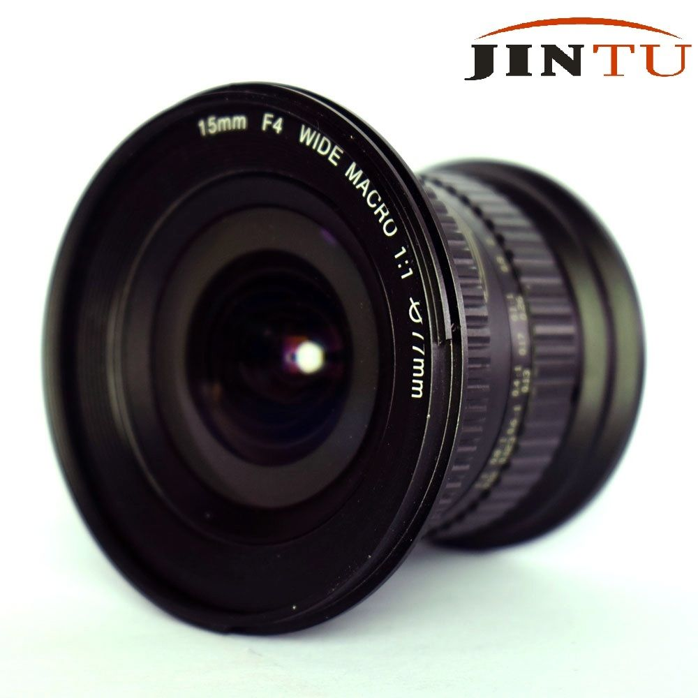 JINTU 15mm f/4.0 F4 Wide Angle Macro Fisheye Lens For Canon EF DSLR FULL Frame APS-C Camera 1