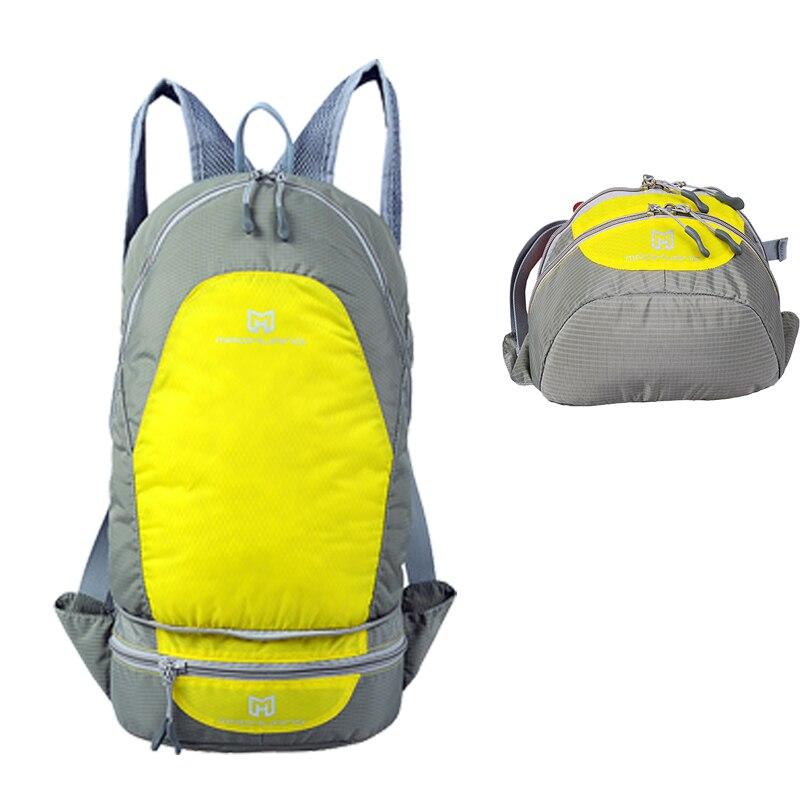 Outdoor Camping Ultralight Bagpack Camping Sport Bag,35L Waterproof Bag Ultralight, Sport Bag 200g 35L Hiking Bagpacking ultralight aluminium alloy camping mats
