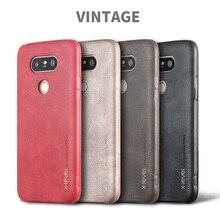 X-LEVEL для LG G 5 Телефонные Чехлы Винтаж серии искусственная кожа с покрытием Hard Case для LG G5/G5 SE крышка