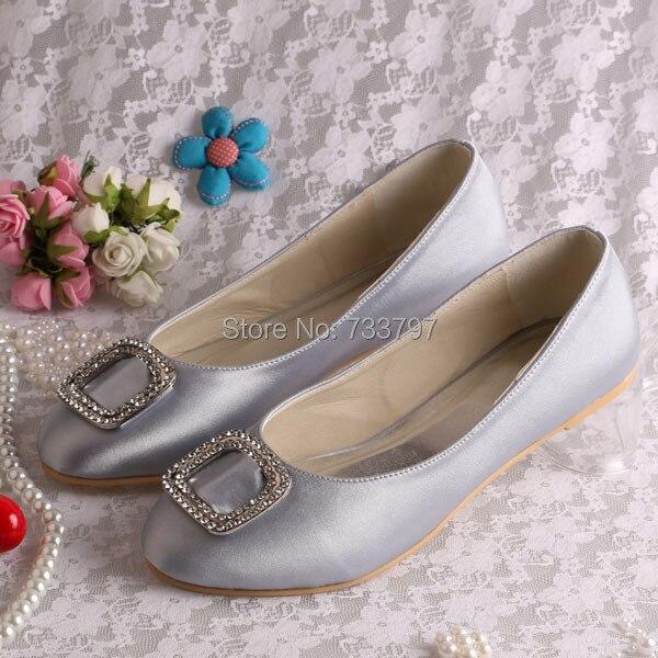 ФОТО (20 Colors)Wedopus Custom Ballet Flats Women Shoes Wedding with Charms Closed Toe