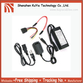 Free Shipping+Wholesales+USB 2.0 to SATA IDE Cable Power Adapter for Hard Drive+5pcs/lot