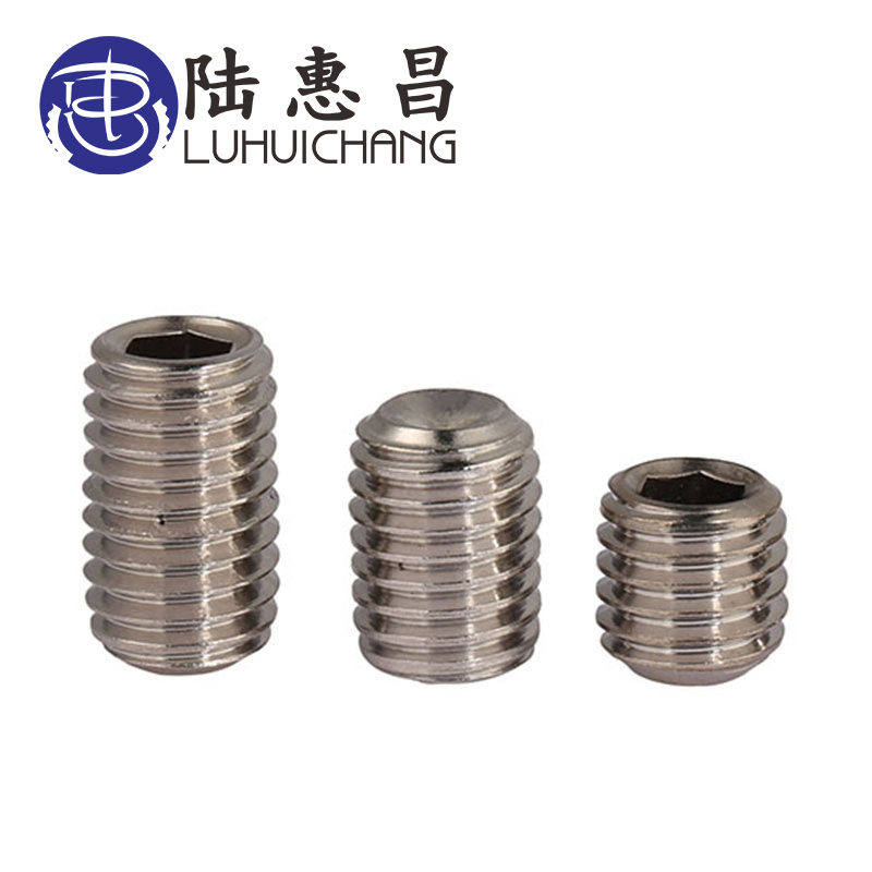 luchang 50pcs DIN913 M1.6 M2 M2.5 304 Stainless Steel Metric Thread Grub Screws Flat Point Hexagon Socket Set Screws Headlessluchang 50pcs DIN913 M1.6 M2 M2.5 304 Stainless Steel Metric Thread Grub Screws Flat Point Hexagon Socket Set Screws Headless