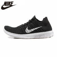 Original New Arrival Authentic Nike Free RN Flyknit Women's Breathable Running Shoes Sports Sneakers Trainers