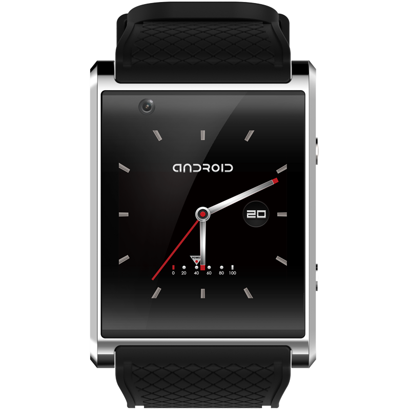 New Android smart watch GPS SOS Arc face capacitive <font><b>screen</b></font> 3G smartwatch video WIFI camera Sports Health music <font><b>phone</b></font> handsfree