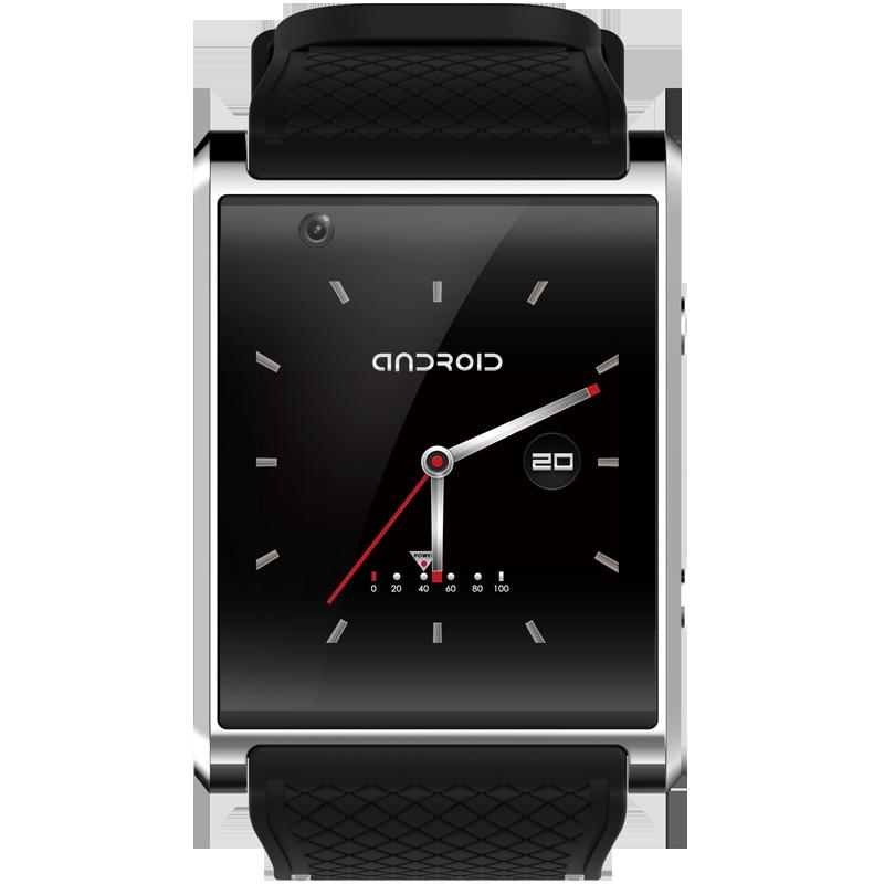 Nouveau Android montre intelligente GPS SOS Arc visage écran capacitif 3G smartwatch vidéo WIFI caméra sport santé musique téléphone mains libres