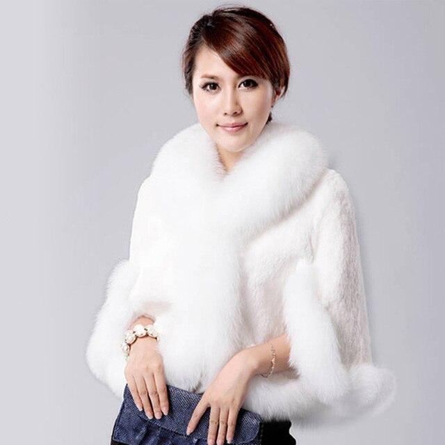 807afbf5b3f12 Kenancy Autumn Winter Warm Solid Color Faux Fur Coat Plus Size 3XL Fashion  Female Waistcoat Cloak Fluffy Loose Faux Fox Fur Coat