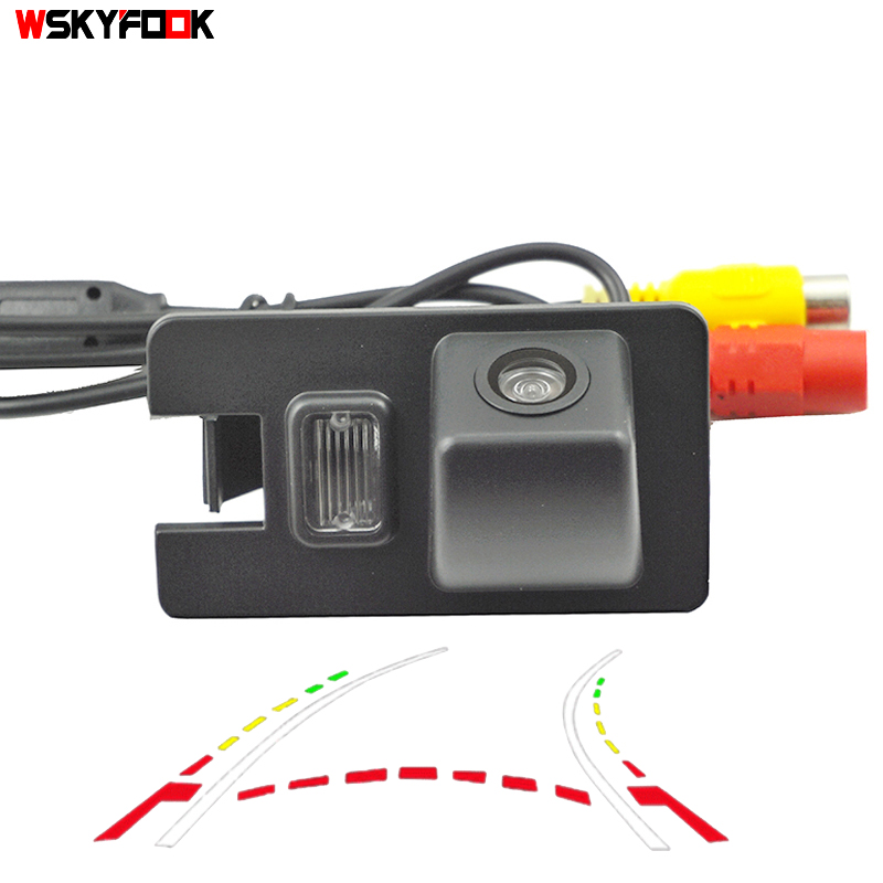 CCD 600L Intelligent Dynamic Trajectory  Car Rear View Backup Camera For Great Wall HOVER H3 H5 H6 Haval Parking Reverse Camera